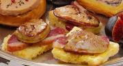 Bouchées de foie gras poêlé et magret