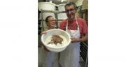 Fanélie et Franck, boulangerie les Caprices de Fanélie