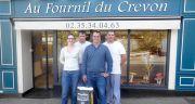 Adhérent Petits Moulins de France, les Moulins de l'Andelle  (Seine-Maritime) et le Fournil du Crevon à Blainville (76) ont mis  leur expérience en commun pour fabriquer du pain local de qualité.