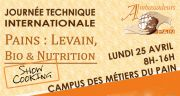 Journée technique internationale levain, le 25 avril à Saint-Chamond