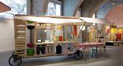 Un exemple de «cuisine de rue mobile», déployée à l'occasion  de Street Food Temple / © Agence 2e Bureau