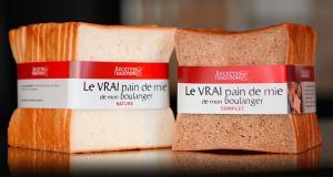 Ce pain de mie se décline en deux versions : nature ou complet.