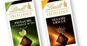 Tablettes chocolat Lindt