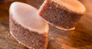 Demi-calisson noisette-chocolat