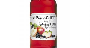 Sirop pomme cassis