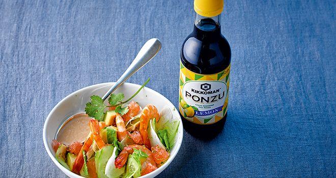 Sauce soja citronnée