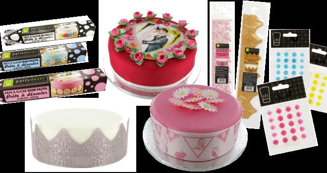 Impressions comestibles ou pâte à sucre à dérouler, pour les fêtes à venir, Cerf-Dellier vous propose différentes manières originales pour customiser vos gâteaux…