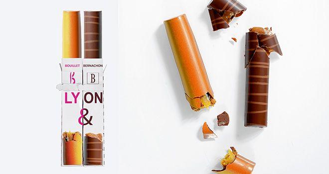 Les nouvelles barres chocolatées BB de Lyon.