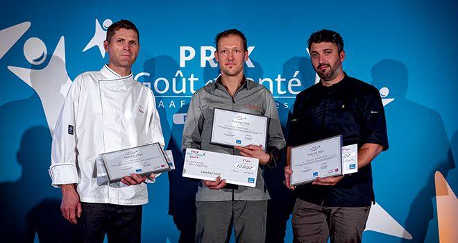 Les trois artisans récompensés. ©Fokalstudio