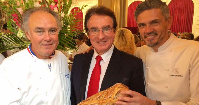 De gauche à droite :  Jean-Jaques Massé, Louis Le Duff, et Christophe Adam