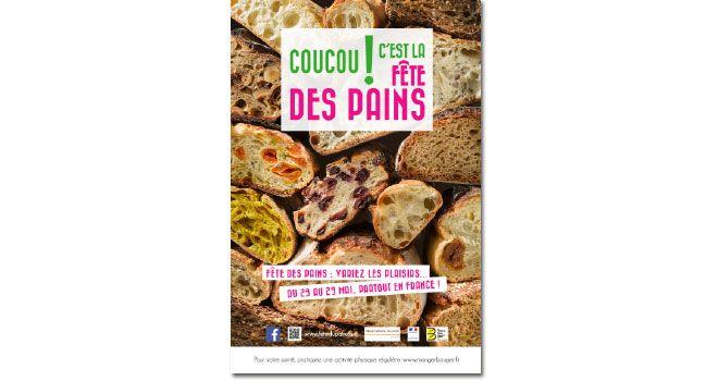 affiche de la fête des pains 2016