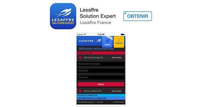 Application Lesaffre à télécharger sur Appstore