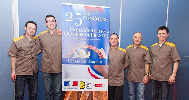 MOF Boulangers 2015