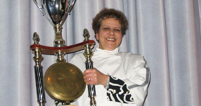 Madame Lyczak pour la meilleure galette aux amandes IDF