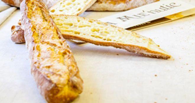 La Mie'nutie est une baguette élaborée à partir d'une farine 100%blé dur, sans aucun ajout.