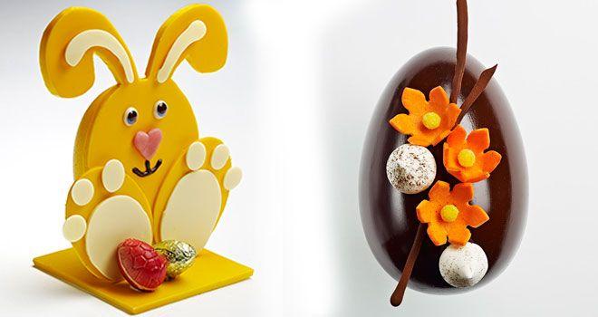 Lapin et œuf de Pâques de Mulhaupt