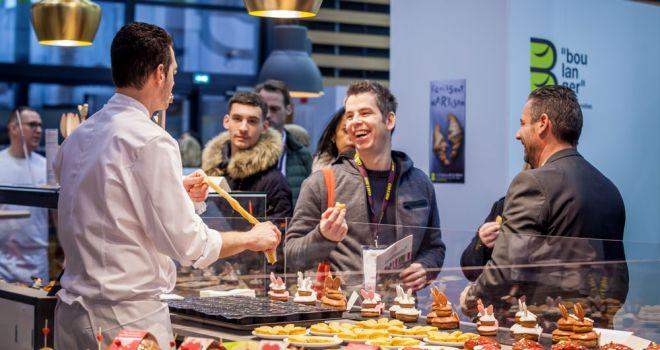Sirha 2019 démonstration pâtisserie - DIPH photography